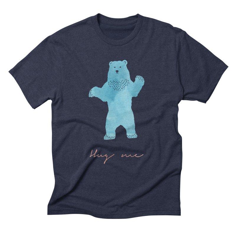 Hug Me Men's Triblend T-Shirt by Pen & Paper Design's Shop