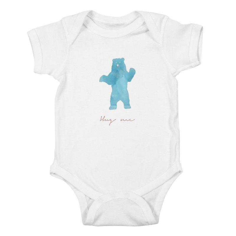 Hug Me Kids Baby Bodysuit by Pen & Paper Design's Shop
