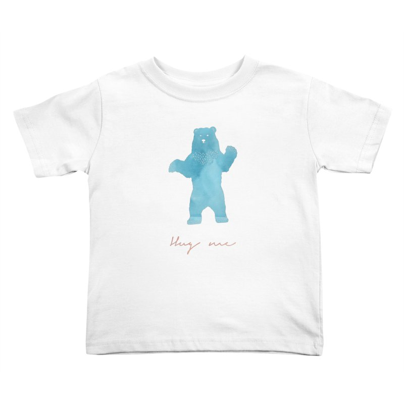 Hug Me Kids Toddler T-Shirt by Pen & Paper Design's Shop