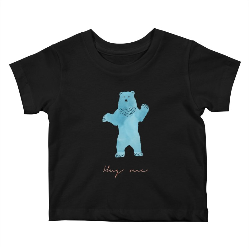 Hug Me Kids Baby T-Shirt by Pen & Paper Design's Shop