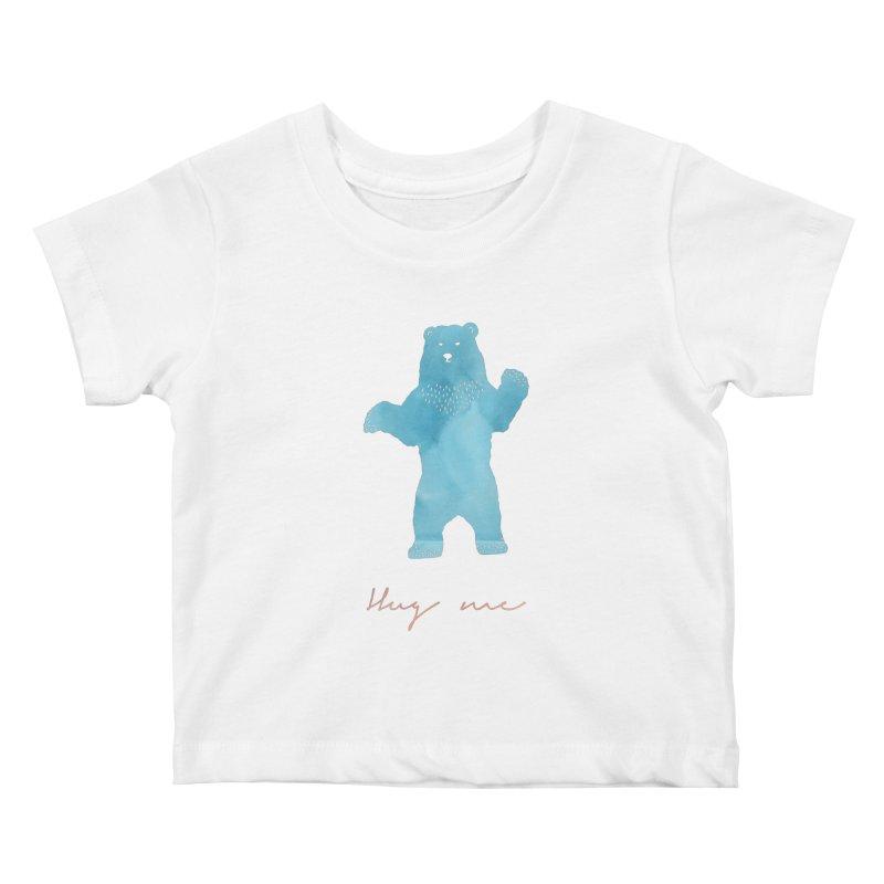 Hug Me Kids Baby T-Shirt by Pen & Paper Design's Shop