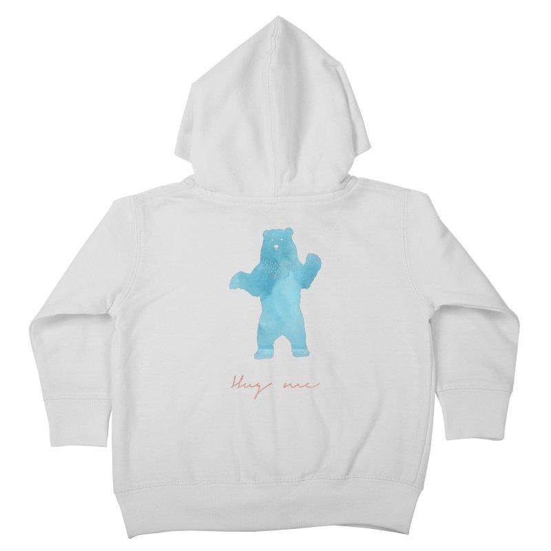 Hug Me Kids Toddler Zip-Up Hoody by Pen & Paper Design's Shop