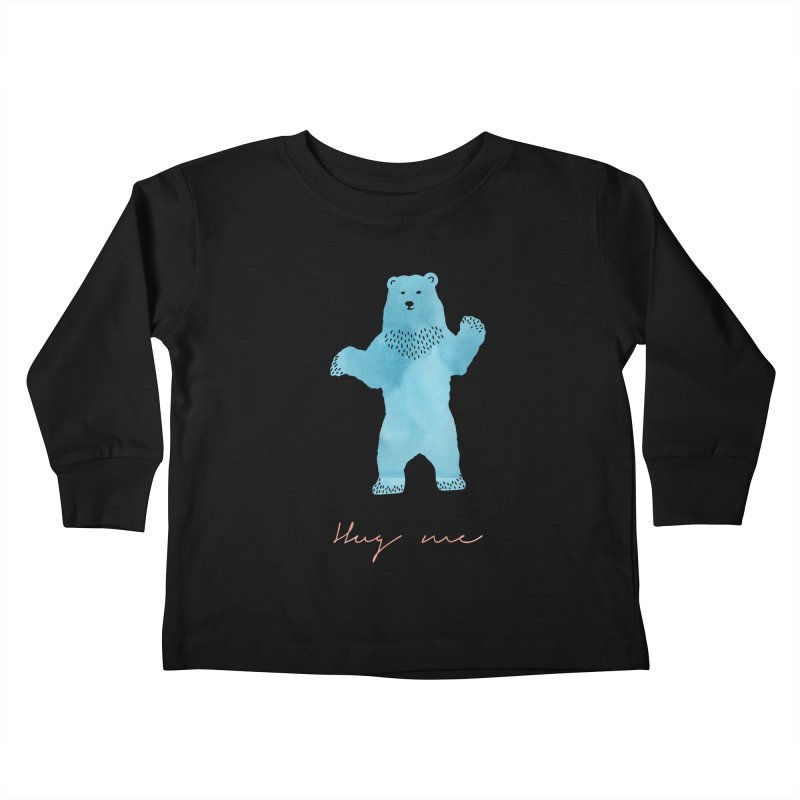 Hug Me Kids Toddler Longsleeve T-Shirt by Pen & Paper Design's Shop