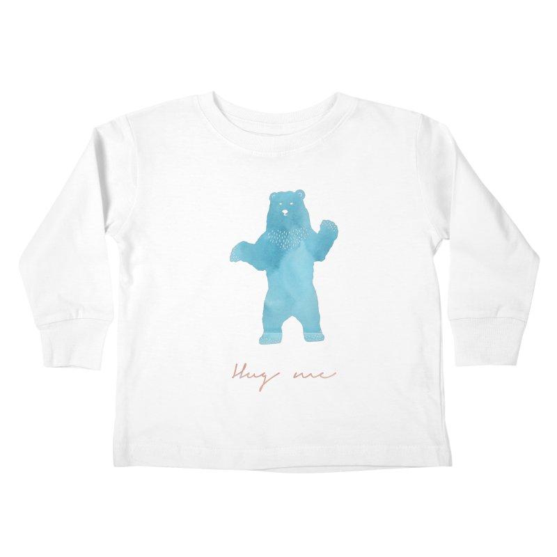 Hug Me Kids Toddler Longsleeve T-Shirt by Pen & Paper Design's Shop