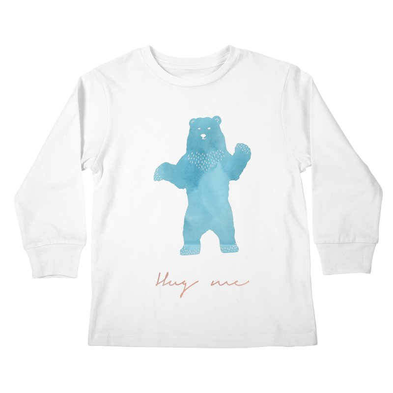 Hug Me Kids Longsleeve T-Shirt by Pen & Paper Design's Shop
