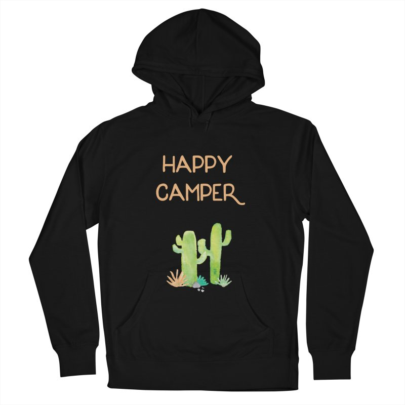 Happy Camper Women's Pullover Hoody by Pen & Paper Design's Shop