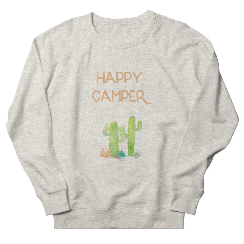 Happy Camper Women's Sweatshirt by Pen & Paper Design's Shop