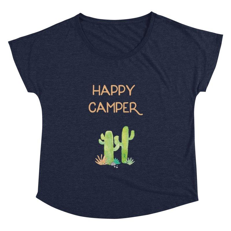 Happy Camper Women's Dolman by Pen & Paper Design's Shop