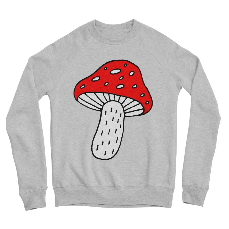 Mushroom Vibes Men's Sponge Fleece Sweatshirt by Ekaterina Zimodro's Artist Shop