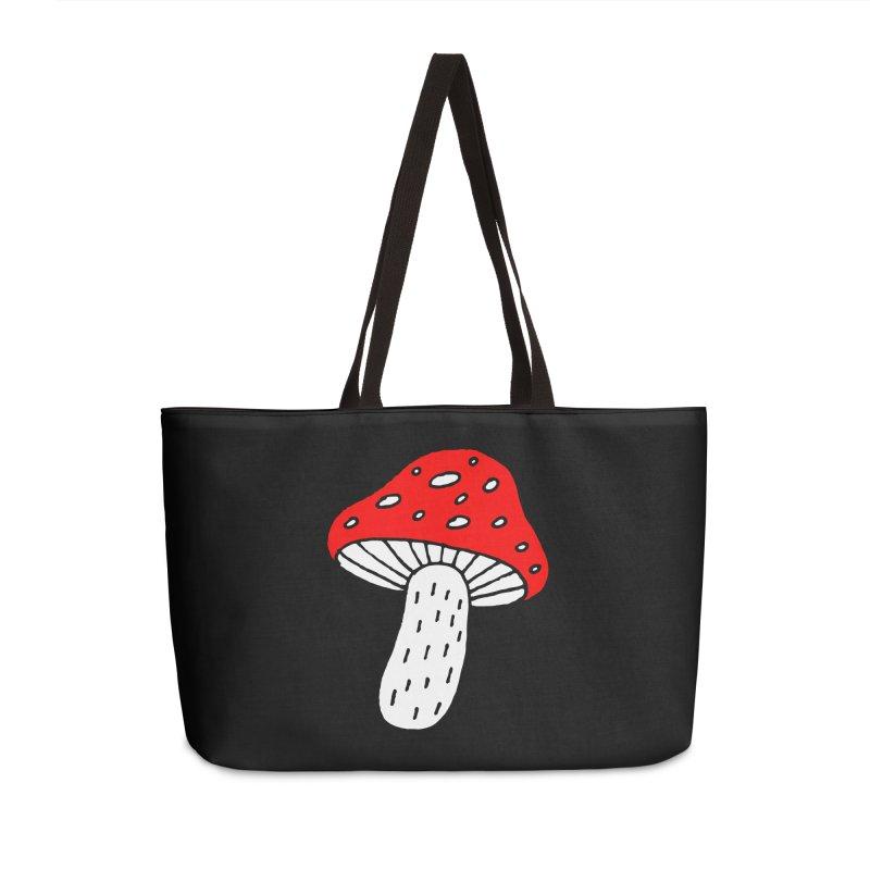 Mushroom Vibes Accessories Weekender Bag Bag by PENARULIT illustration