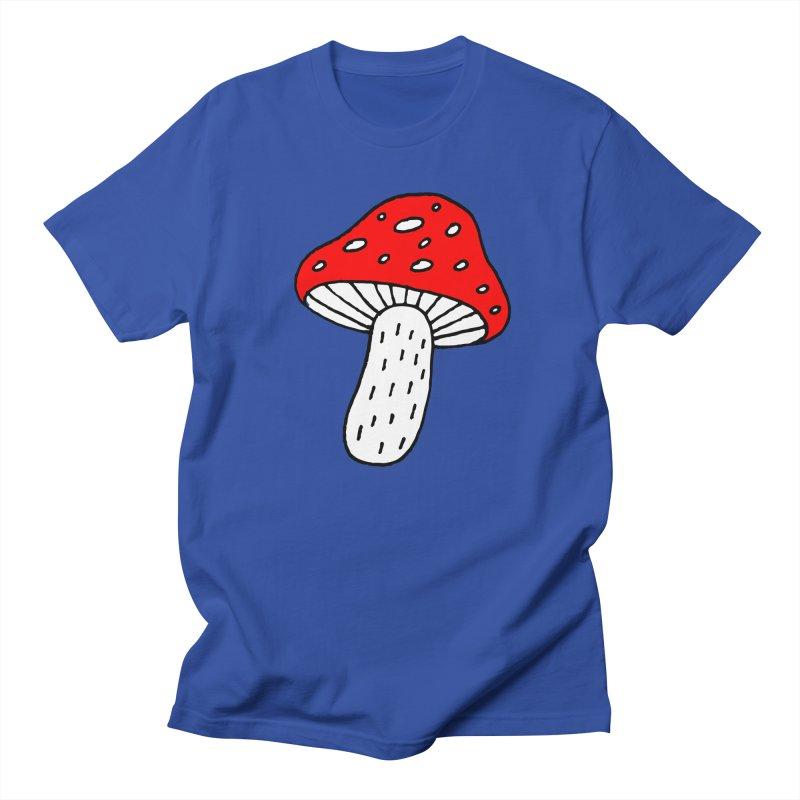 Mushroom Vibes Men's Regular T-Shirt by PENARULIT illustration
