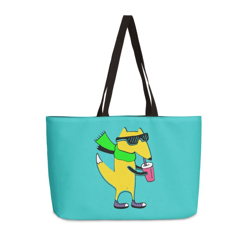 Enjoy Today Accessories Weekender Bag Bag by PENARULIT illustration