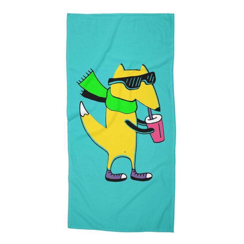 Enjoy Today Accessories Beach Towel by PENARULIT illustration