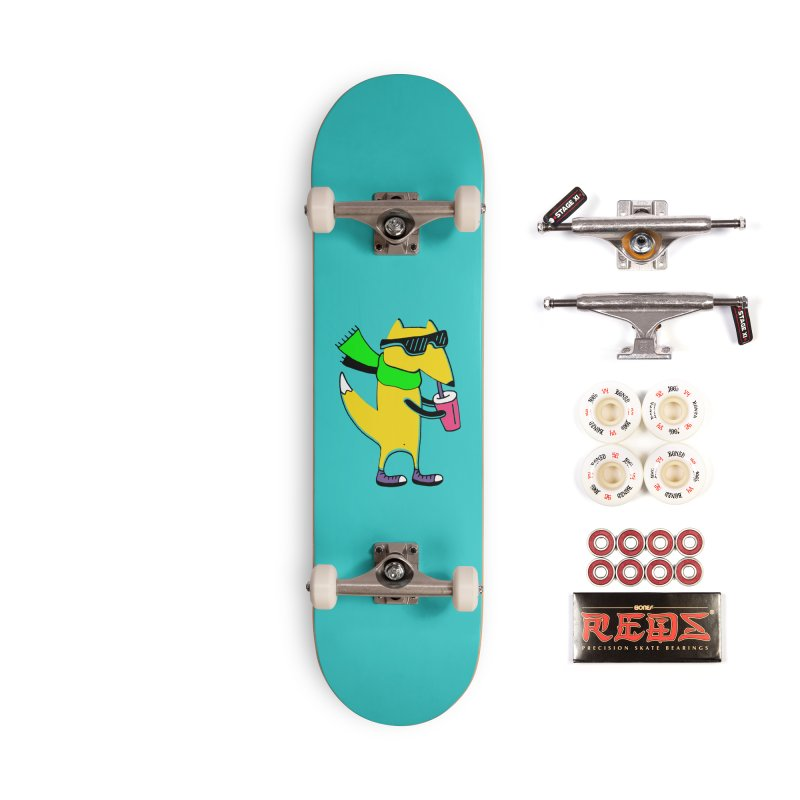 Enjoy Today Accessories Complete - Pro Skateboard by PENARULIT illustration