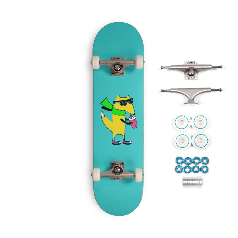 Enjoy Today Accessories Complete - Basic Skateboard by PENARULIT illustration