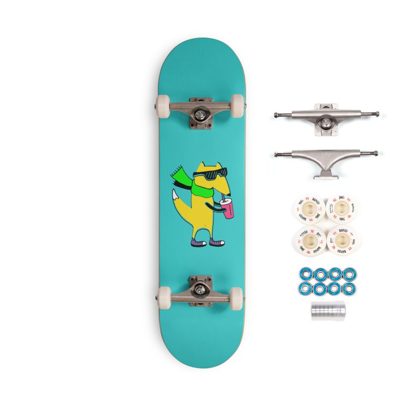 Enjoy Today Accessories Complete - Premium Skateboard by PENARULIT illustration