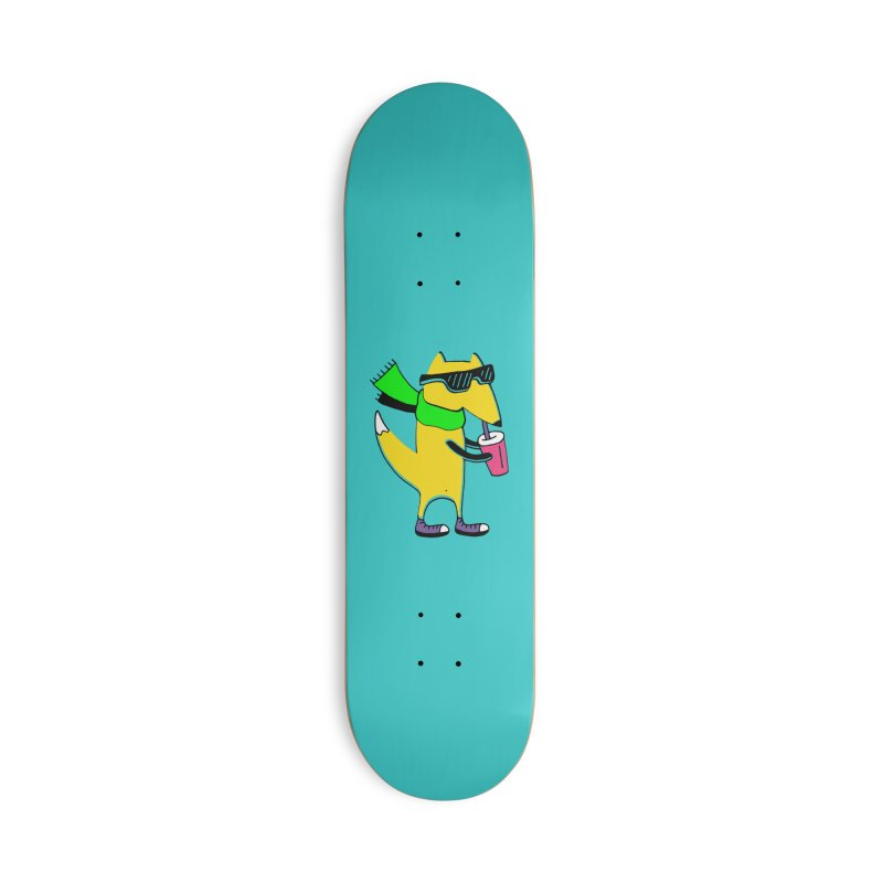 Enjoy Today Accessories Deck Only Skateboard by PENARULIT illustration