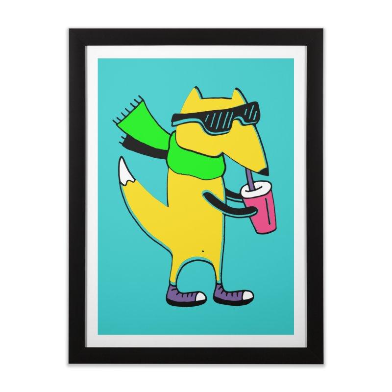 Enjoy Today Home Framed Fine Art Print by PENARULIT illustration