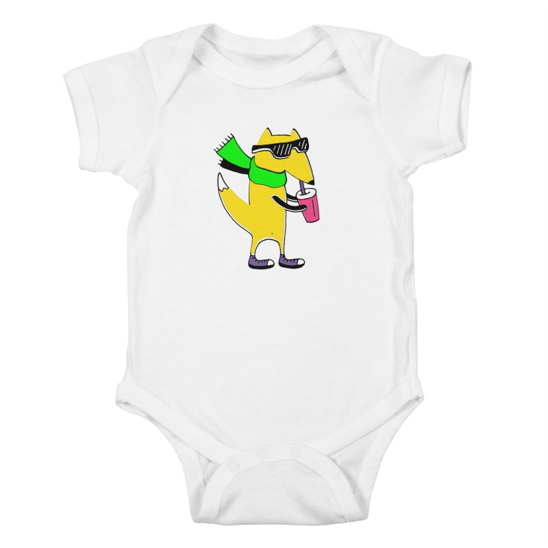 Enjoy Today Kids Baby Bodysuit by PENARULIT illustration