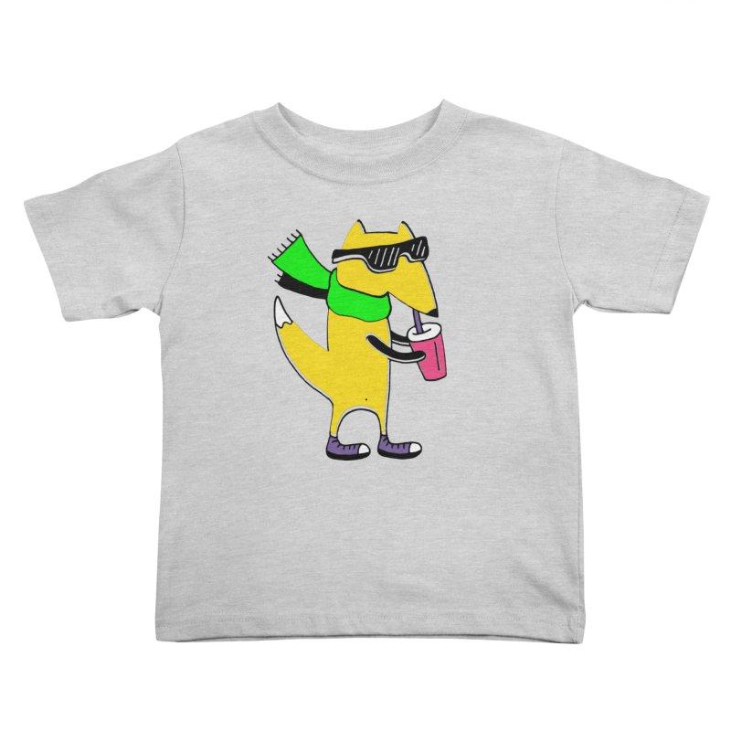 Enjoy Today Kids Toddler T-Shirt by PENARULIT illustration