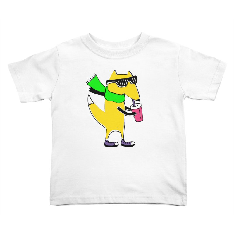Enjoy Today Kids Toddler T-Shirt by PENARULIT illustration