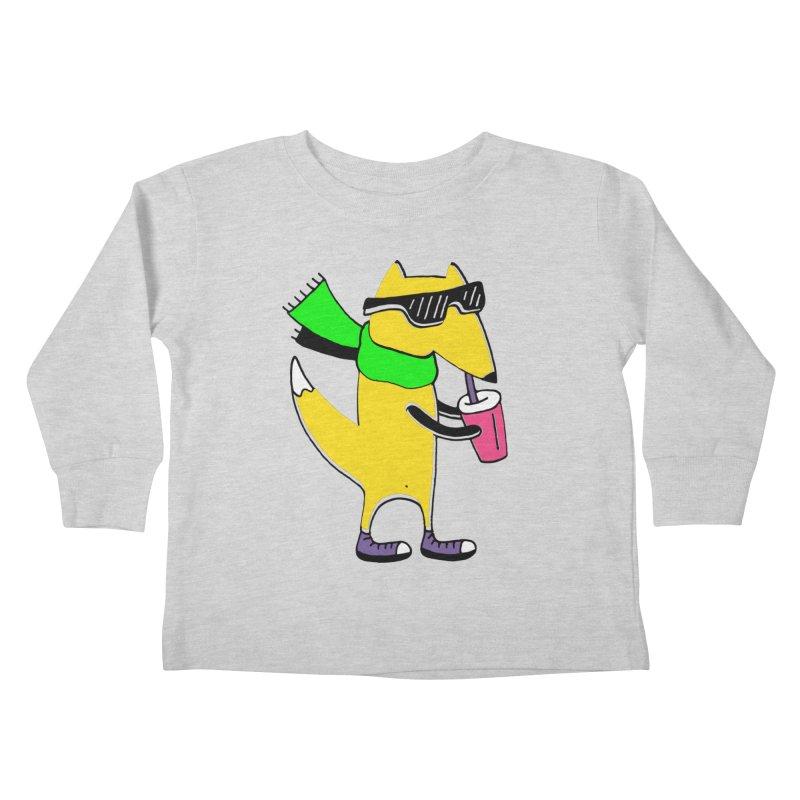 Enjoy Today Kids Toddler Longsleeve T-Shirt by PENARULIT illustration