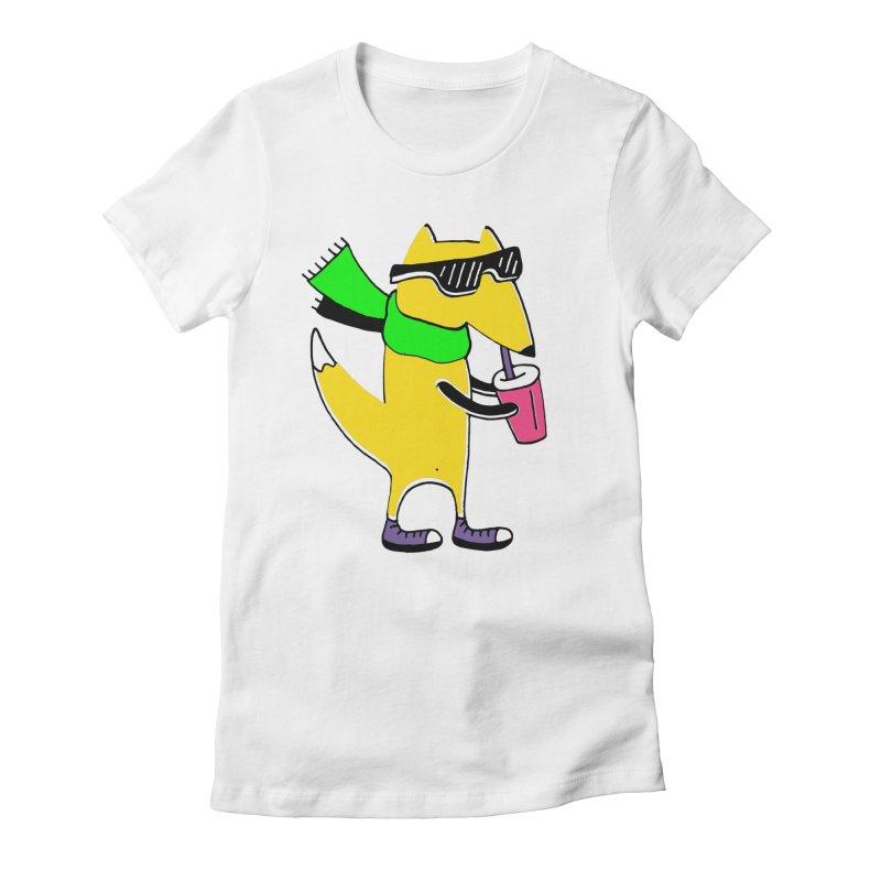 Enjoy Today Women's Fitted T-Shirt by Ekaterina Zimodro's Artist Shop