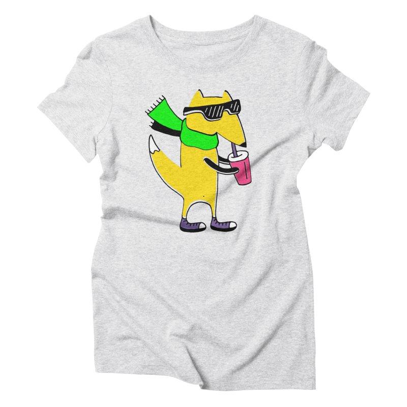 Enjoy Today Women's Triblend T-Shirt by PENARULIT illustration