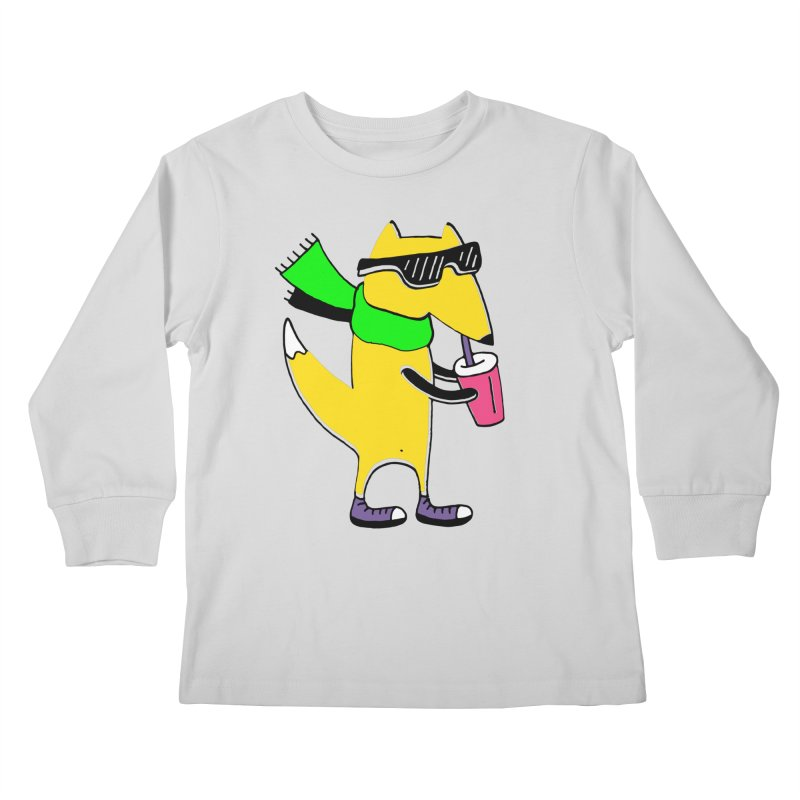 Enjoy Today Kids Longsleeve T-Shirt by Ekaterina Zimodro's Artist Shop