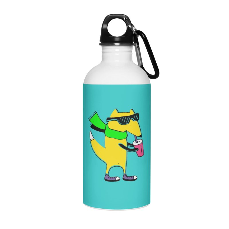 Enjoy Today Accessories Water Bottle by PENARULIT illustration