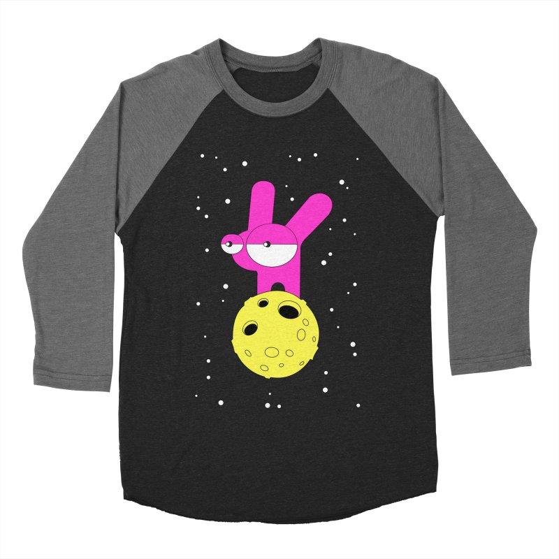 Moon Rabbit Moods Women's Baseball Triblend Longsleeve T-Shirt by PENARULIT illustration
