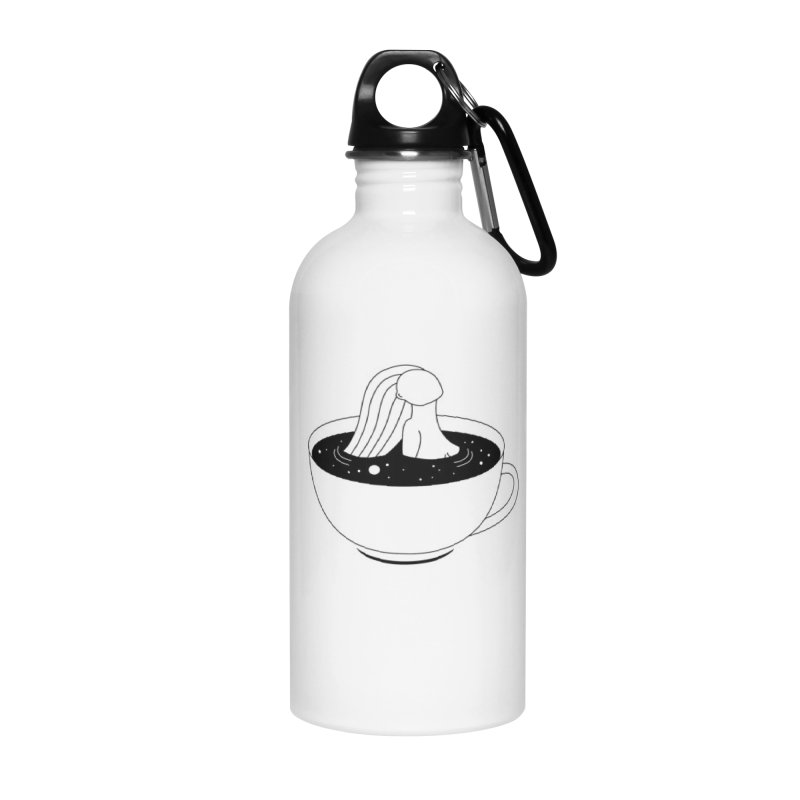 Coffee Time Accessories Water Bottle by PENARULIT illustration