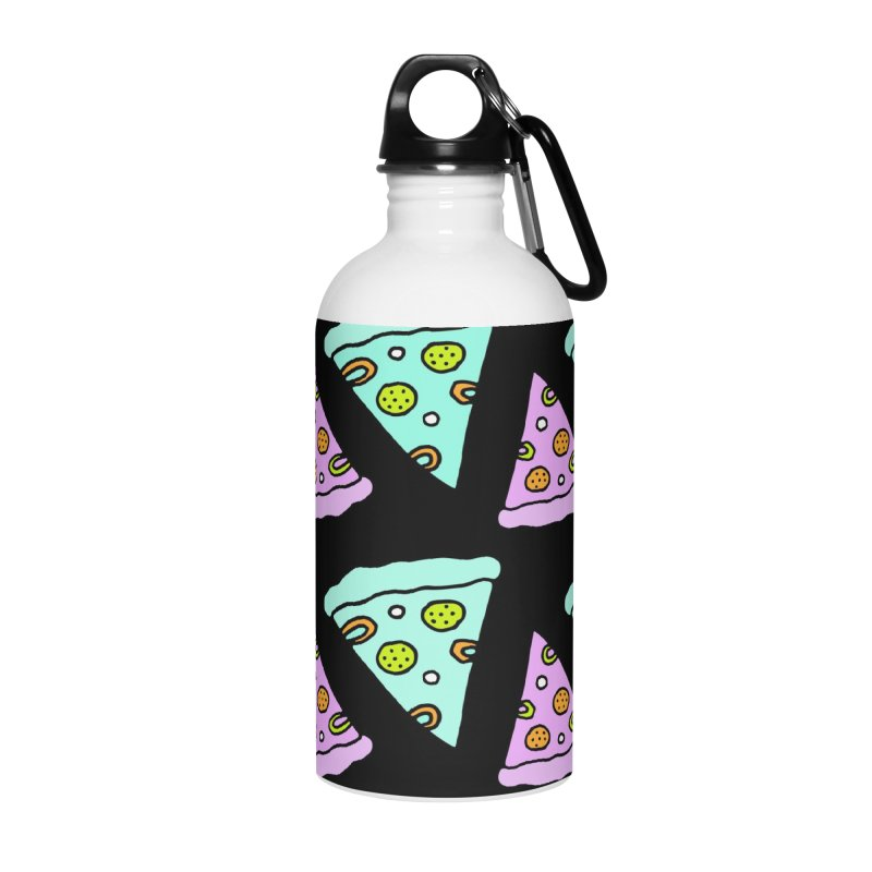 All You Need Is Pizza Accessories Water Bottle by PENARULIT illustration