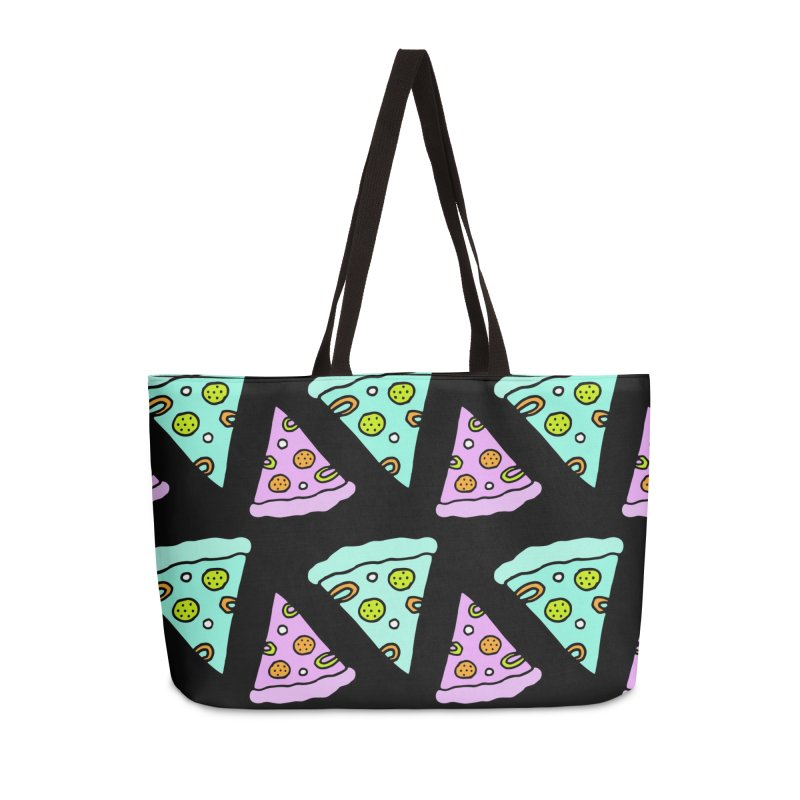 All You Need Is Pizza Accessories Weekender Bag Bag by Ekaterina Zimodro's Artist Shop