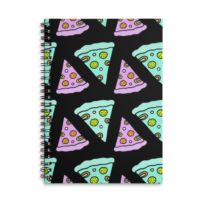 All You Need Is Pizza Accessories Lined Spiral Notebook by PENARULIT illustration