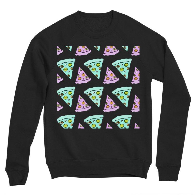 All You Need Is Pizza Women's Sponge Fleece Sweatshirt by PENARULIT illustration