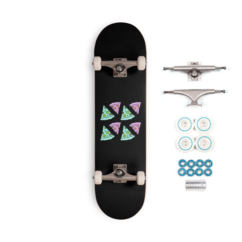 All You Need Is Pizza Accessories Complete - Basic Skateboard by PENARULIT illustration
