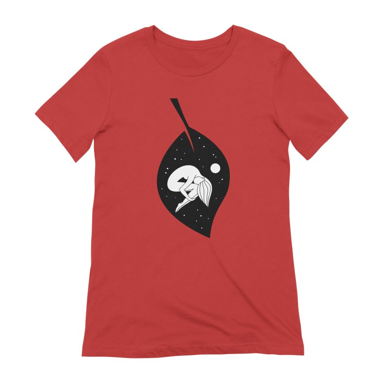 Autumn Immersion Women's Extra Soft T-Shirt by PENARULIT's Artist Shop