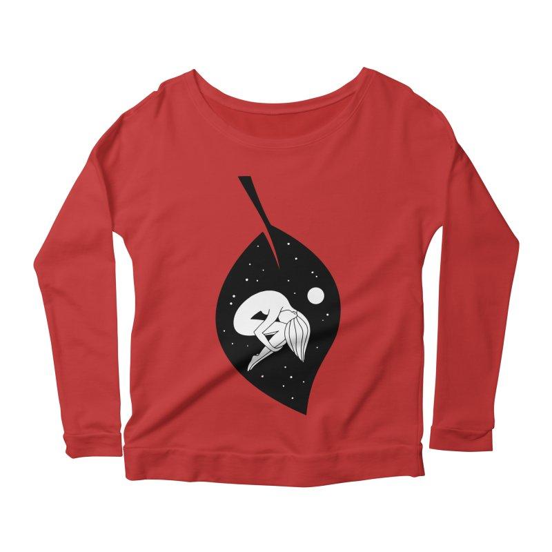 Autumn Immersion Women's Scoop Neck Longsleeve T-Shirt by PENARULIT's Artist Shop
