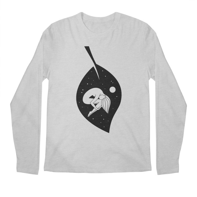 Autumn Immersion Men's Longsleeve T-Shirt by PENARULIT illustration
