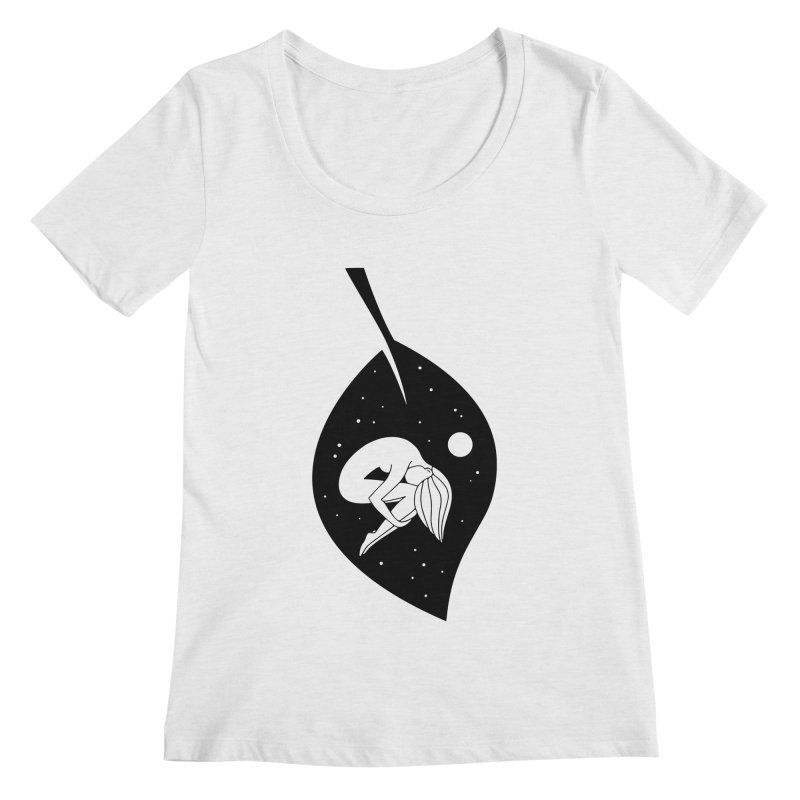 Autumn Immersion Women's Scoop Neck by PENARULIT illustration