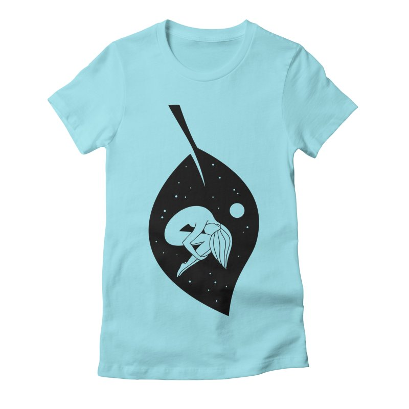 Autumn Immersion Women's T-Shirt by PENARULIT illustration