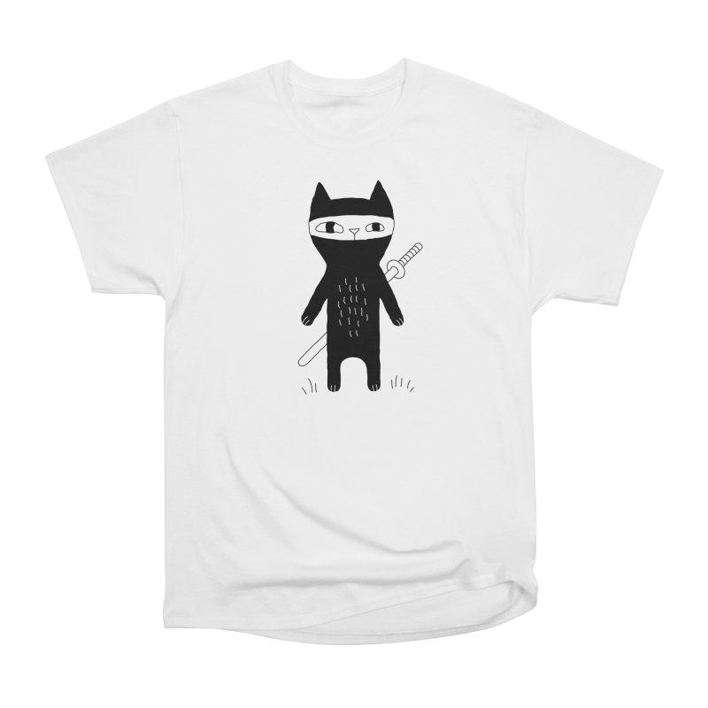 Ninja Cat Men's T-Shirt by PENARULIT's Artist Shop