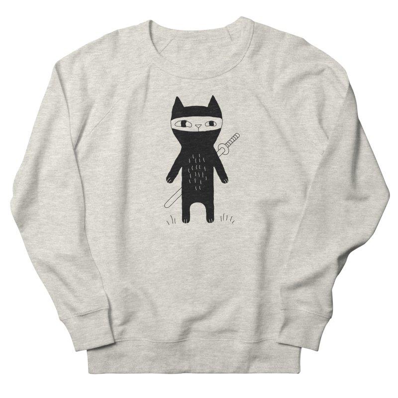 Ninja Cat Women's Sweatshirt by PENARULIT illustration