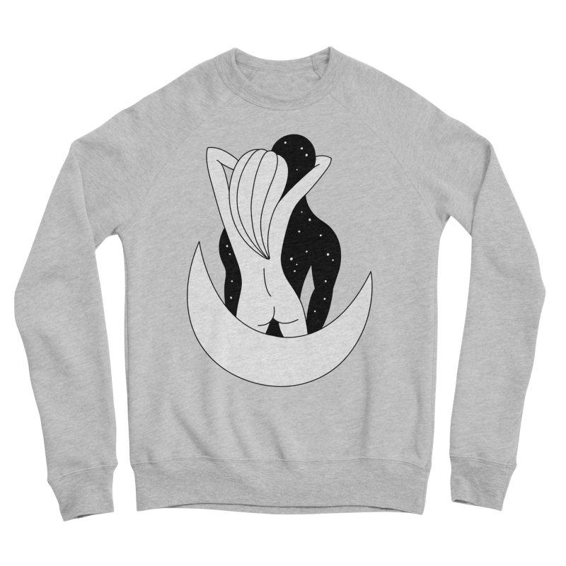 Love You To The Moon And Back Women's Sponge Fleece Sweatshirt by PENARULIT's Artist Shop