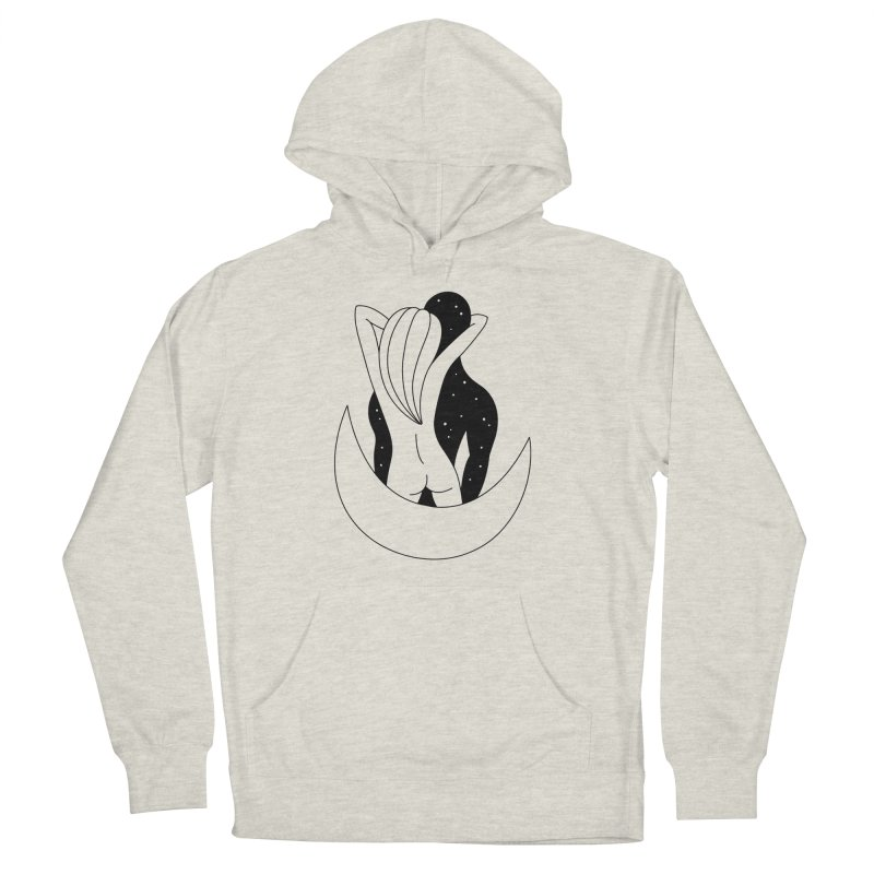 Love You To The Moon And Back Women's Pullover Hoody by Ekaterina Zimodro's Artist Shop
