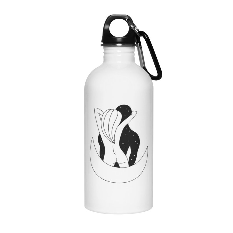 Love You To The Moon And Back Accessories Water Bottle by PENARULIT's Artist Shop