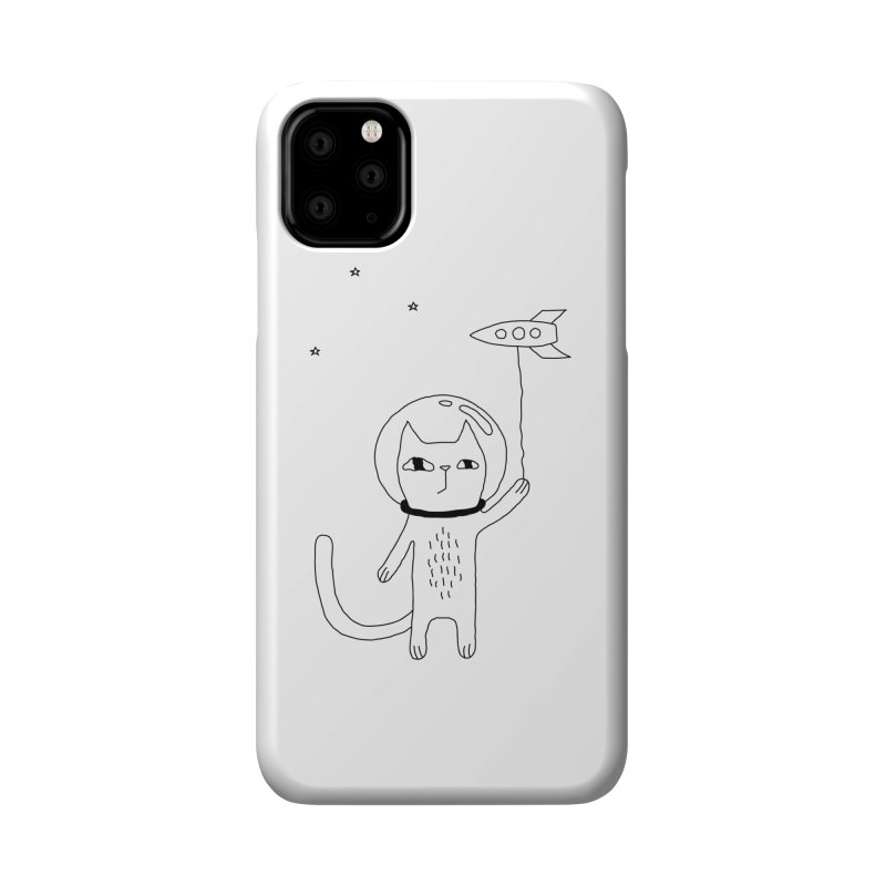 Space Cat Accessories Phone Case by PENARULIT illustration