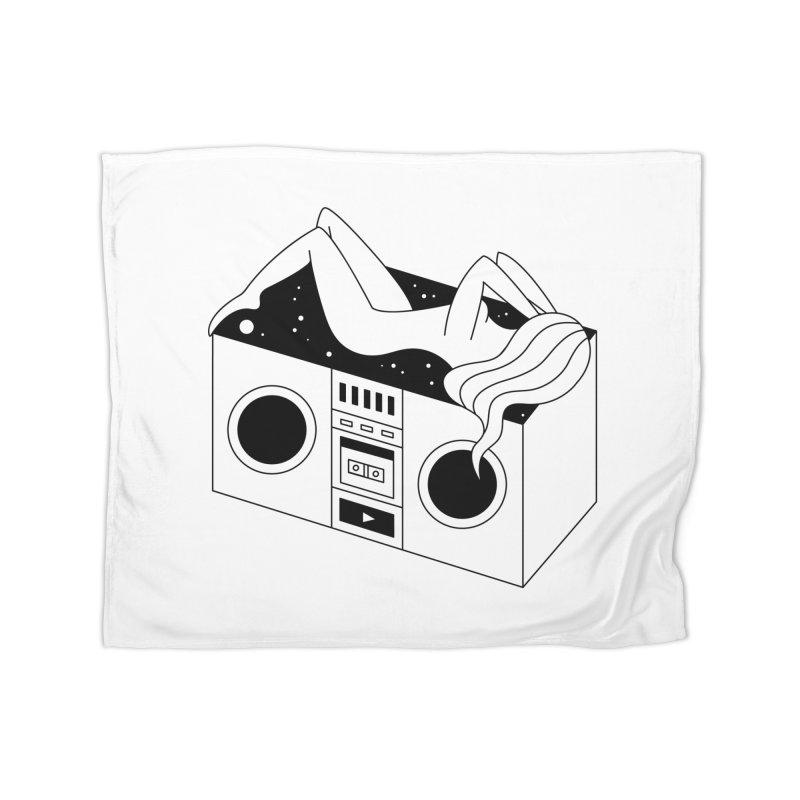 Euphoria Home Fleece Blanket Blanket by PENARULIT illustration