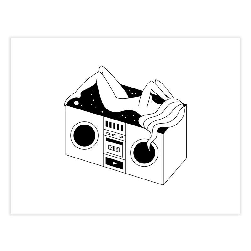 Euphoria Home Fine Art Print by PENARULIT illustration